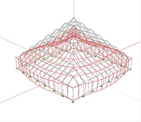 Inwenteryzacja budowlana konstrukcji Żelbetowego przykrycia